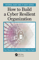 Book cover of How to build a cyber resilient organization