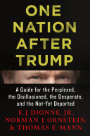 Book cover of One nation after Trump : a guide for the perplexed, the disillusioned, the desperate, and the not-yet deported