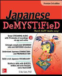 Book cover of Japanese demystified