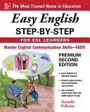 Book cover of Easy English step-by-step for ESL learners