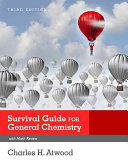 Book cover of Survival guide : general chemistry with math review