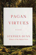 Book cover of Pagan virtues : poems