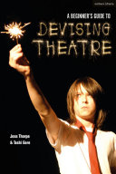 Book cover of A beginner's guide to devising theatre