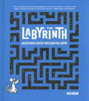 Book cover of The labyrinth : an existential odyssey with Jean-Paul Sartre