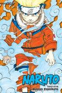 Book cover of Naruto