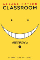 Book cover of Assassination classroom.