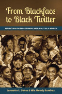 Book cover of From blackface to Black twitter : reflections on Black humor, race, politics, & gender