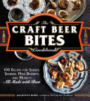 Book cover of The craft beer bites cookbook