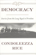 Book cover of Democracy : stories from the long road to freedom