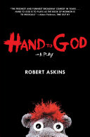 Book cover of Hand to God : a play