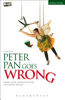 Book cover of Peter Pan goes wrong