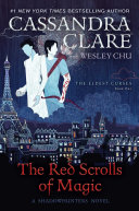 Book cover of The red scrolls of magic