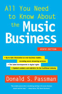Book cover of All you need to know about the music business