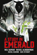 Book cover of A study in emerald