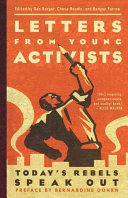 Book cover of Letters from young activists : today's rebels speak out