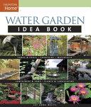 Book cover of Water garden idea book