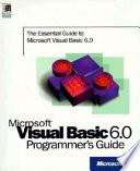 Microsoft Visual Basic 6.0 Programmer's Guide