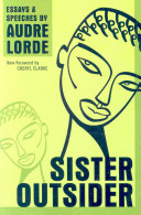 Book cover of Sister outsider : essays and speeches