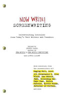 Book cover of Now write! screenwriting : exercises by today's best writers and teachers