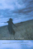 Book cover of Living in storms : contemporary poetry and the moods of manic-depression