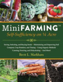 Book cover of Mini farming : self sufficiency on a 1/4 acre