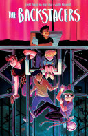 Book cover of The backstagers.