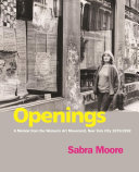 Book cover of Openings : a memoir from the women's art movement, New York City 1970-1992