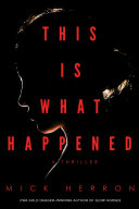 Book cover of This is what happened