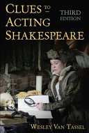 Book cover of Clues to acting Shakespeare