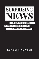 Book cover of Surprising news : how the media affect, and do not, affect politics