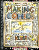Book cover of Making comics