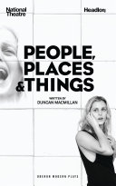 Book cover of People, places and things