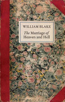 Book cover of The marriage of heaven and hell