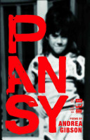 Book cover of Pansy : a collection of poetry