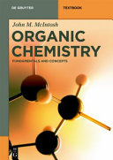 Book cover of Organic chemistry : fundamentals and concepts