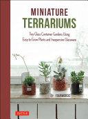 Book cover of Miniature terrariums