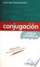 Conjugación de la lengua española