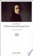 Ultime lettere di Jacopo Ortis VEDI OFFERTA!