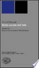 Storia sociale dell'arte Vol. III