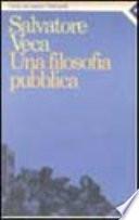 Una filosofia pubblica