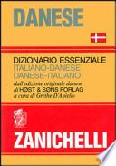 DIZIONARIO ESSENZIALE ITALIANO DANESE ITALIANO