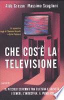Che cos'è la televisione il piccolo schermo fra cultura e società : i generi, l'industria, il pubblico