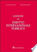 Lezioni di diritto internazionale pubblico