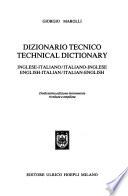 Dizionario tecnico inglese-italiano/italiano-inglese
