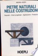 Pietre naturali nelle costruzioni