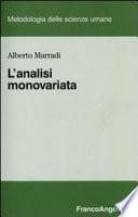 L'analisi monovariata