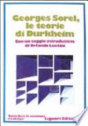 LE TEORIE DI DURKHEIM con un saggio introduttivo di Orlando Lentini