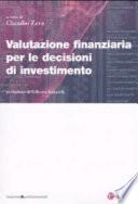 Valutazione finanziaria per le decisioni di investimento