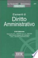 Elementi di diritto amministrativo (217) - XVII Edizione