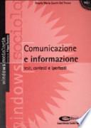 Comunicazione e informazione - Testi, contesti e ipertesti